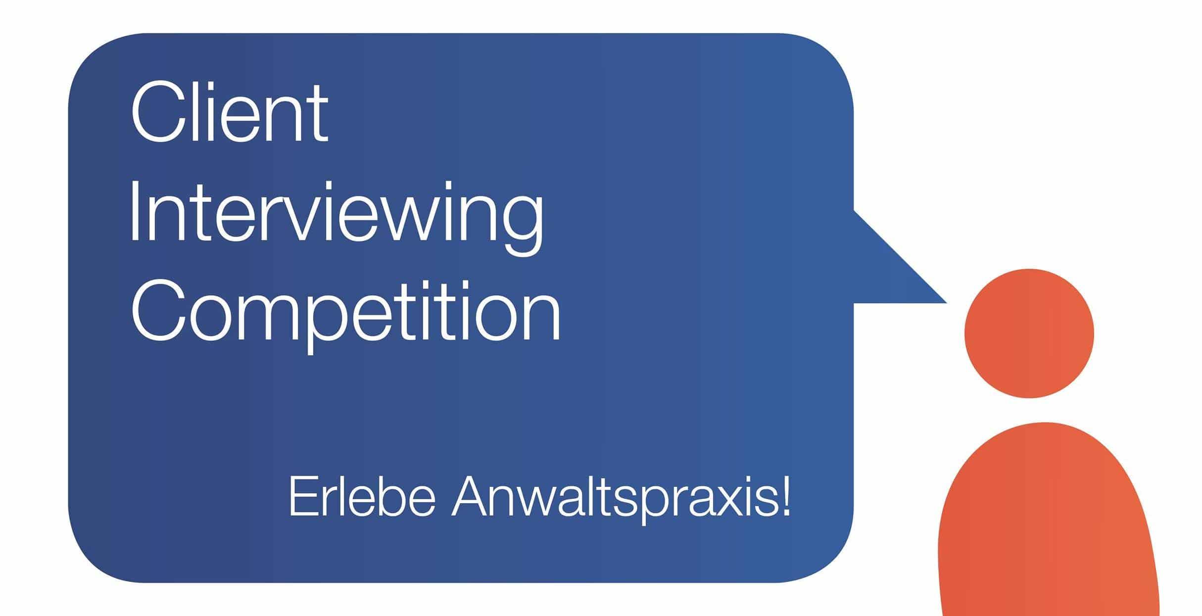 Melde Dich jetzt für die Client Interviewing Competition an.