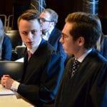 Anwälte besprechen sich